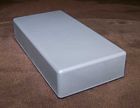 100X25, Flat Bottom Boxes Dark Grey